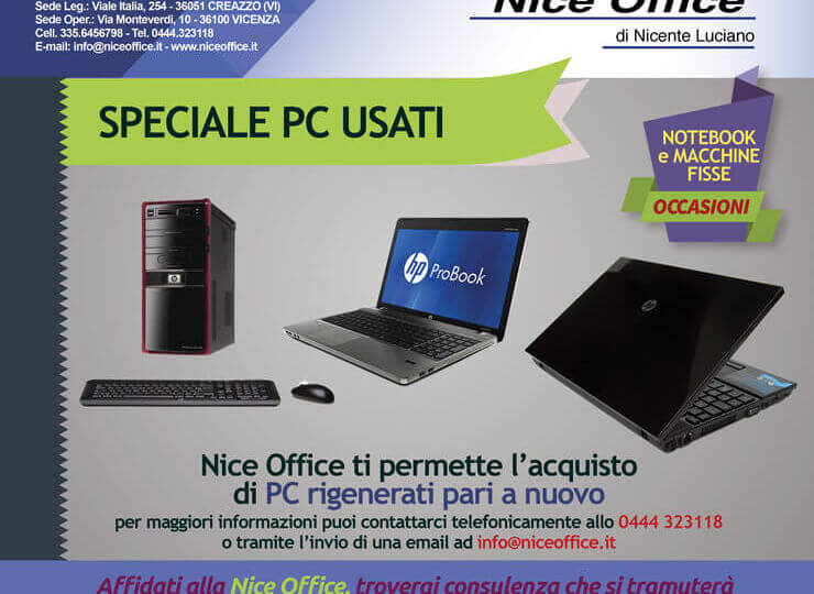 Nice Office Vicenza - Stampanti Multifunzioni PC rigenerati