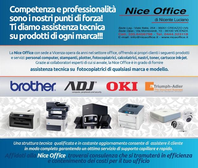 Nice Office Assistenza Tecnica Per Il Tuo Ufficio Nice Office Stampanti Multifunzione Vicenza