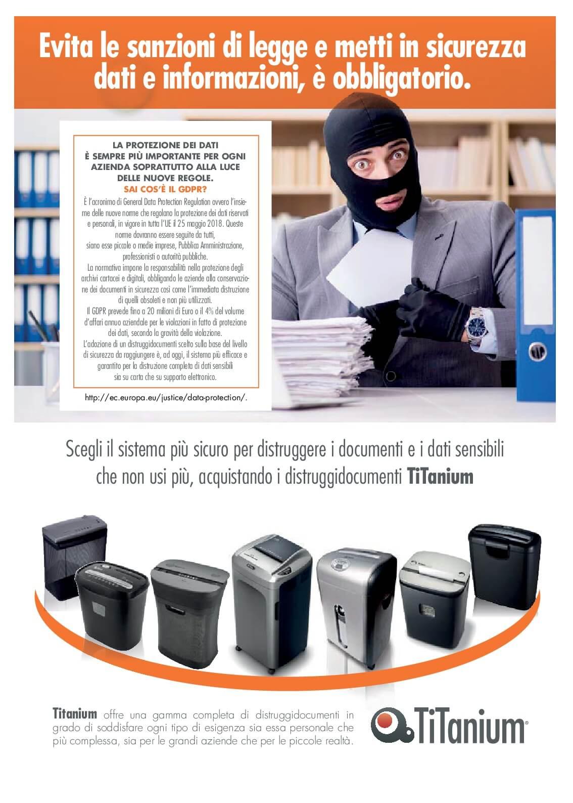 Scegli il sistema più sicuro per distruggere i documenti e i dati sensibili